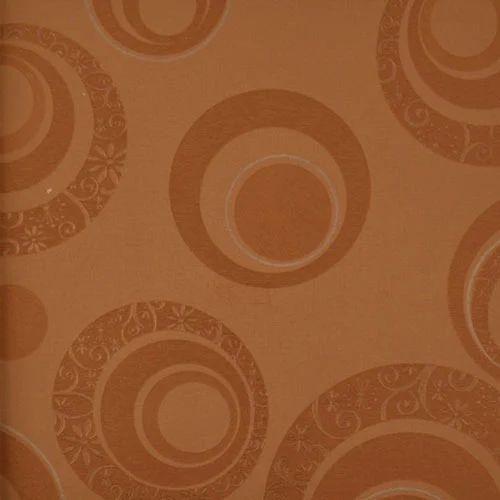 Moda Coffee Geometric Pattern Circles Wallpaper