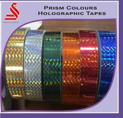 Holographic Prism Multi Colours Self Adhesive Film Tapes