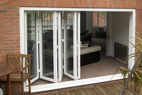 Upvc Bi Fold Door At Rs 450 Square Feet Unplasticized