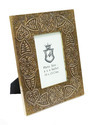 Brass Fitted Wooden Photo Frame (4X6)