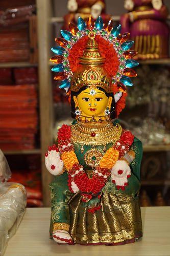 Decorative Statue - Lakshmi 12Inch Cotton Doll Retailer from