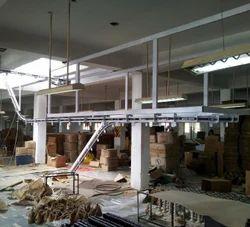 Semi Automatic Storage Overhead Conveyor