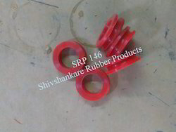 Silicon Red Grommet Gasket