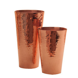 Premium Hammered Solid Copper Cocktail Shaker