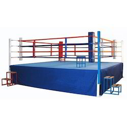 Blue and Green Wrestling Boxing ring canvas sheet 20 x 20 feet in Black