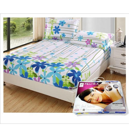 PRINTED COTTON Fitted Bedsheet