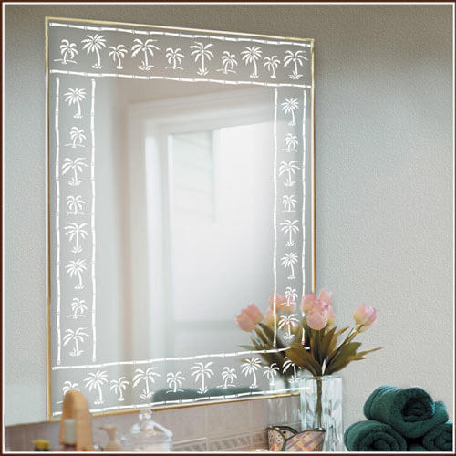 Transparent Etched Mirror Glass Rs 450 Square Feet