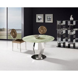 Round Glass Center Table, for Home,Hotels, Size: 3 Feet