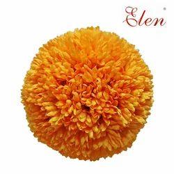 Artificial Yellow Flower Balls