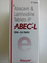 ABEC-L Abacavir & Lamivudine Tablet