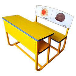 Duel Desk Die Bend Frame Front Iron Mesh