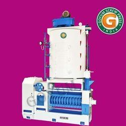 High Capacity Oil Expeller With Round Kettle