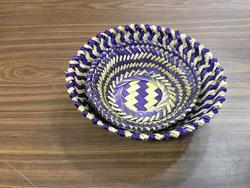 Fancy Bamboo Basket