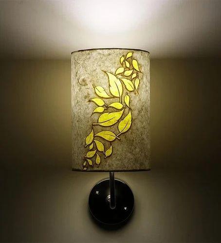 kumar lighting cool white wall light with flower design rs 1040 rh indiamart com wall lighting design ideas boundary wall lighting design