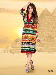 Ethnic Designer Cotton Kurti