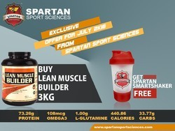 Spartan Lean Muscle Builder, Packaging Size: 1 Kg