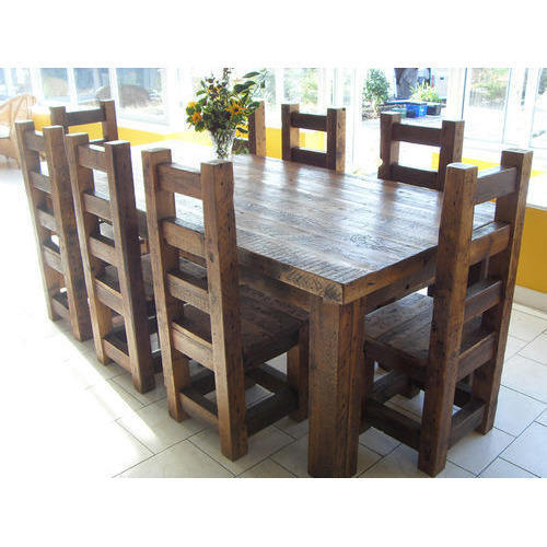 Solid Wood Dining Tables At Rs 59999, Solid Wood Dining Room Sets