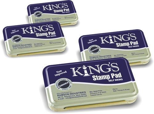 Kings Stamp Pad At Rs 123 Pieces
