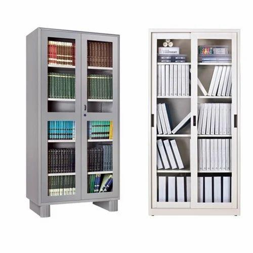 glass door display storage