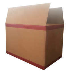 Rectangular Brown Garment Box