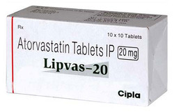 Lipvas-20 Mg ( Atrovastatin )