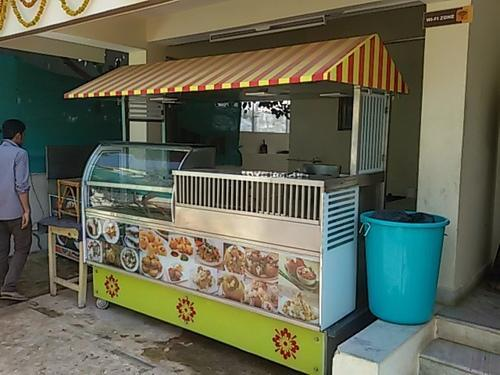 street food counter - Food Van Manufacturer from Hyderabad