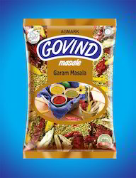 Printed Masala Pouches For Food