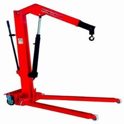 Hand Hydraulic Foldable Floor Crane