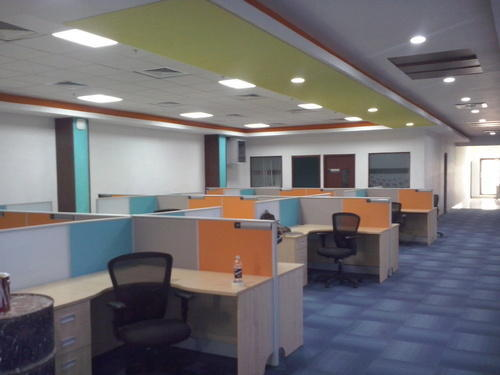 cubical office interior office interiors hi tech infra chennai