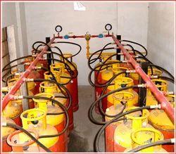 LPG Cylinder Gas Bank