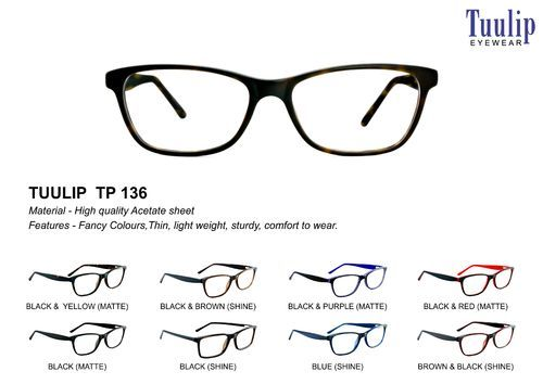 33e7b57a80 Tuulip Tp - 136 Acetate Frame - View Specifications   Details of ...