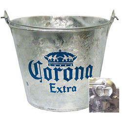 Corona Galvanised Beer Bucket