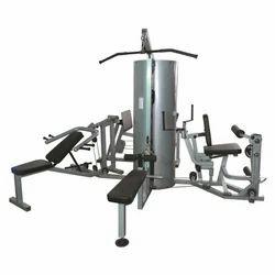 Mild Steel Multi Gym 4 Station ( Round Metal Cover)