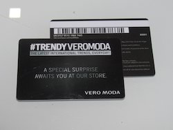 Plastic Promotional Card