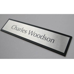 SS Name Plate