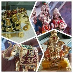 Manufacturer Of Wooden Handicrafts Metal Meena Handicrafts By