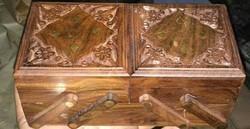 Wooden Sliding Box