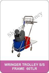 Steel Wringer Trolley Frame