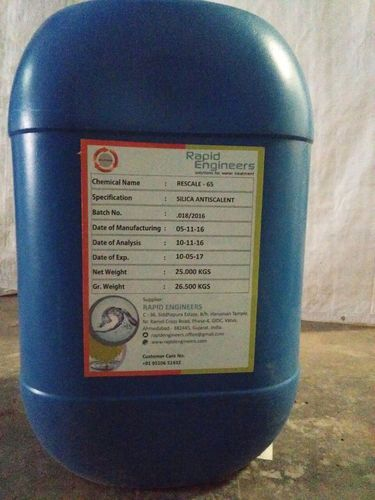Water Treatment Plant Operation Chemicals - High Silica