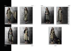 Printed & Embroidered Georgette Suits