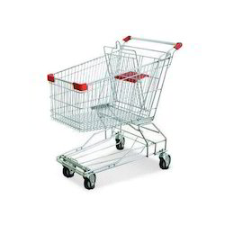 Stainless Steel Shopping Trolley Supermarket Trolley