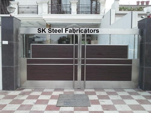 Modern Fancy Stainless Steel Gate At Rs 450 Kilograms Stainless