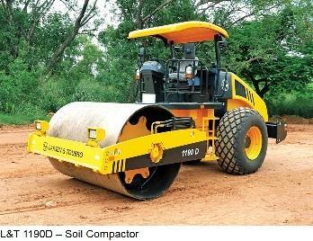 L&T 1190D Soil Compactor | MS Engineers | Authorized