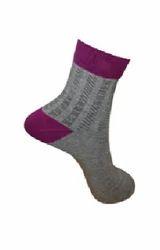 Flat Knit Ankle Socks