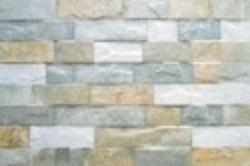 Johnson Villa Stone Brown Ceramic Wall