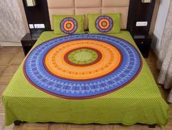 Mandala Tie N Dye Double Bed Sheet 482