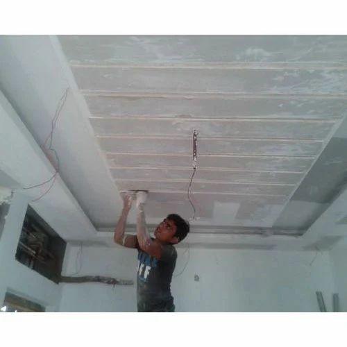 Painting Contractor In Mumbai: Acrylic Gypsum False Ceiling Service, Concept Interiors
