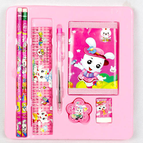 Corporate Letterhead At Rs 3 Piece: Multicolor Kids Stationery Set, Rs 90 /piece, Mangla Sales