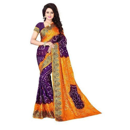 8c443a9c31 Rajasthani Printed Designer Saree at Rs 1099 /piece | Jaipuri Saree ...