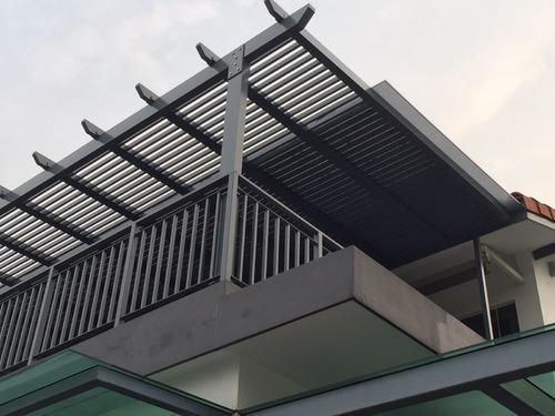 Polycarbonate Roofing Structures At Rs 400 Square Feet West Mambalam Chennai Id 4809938362